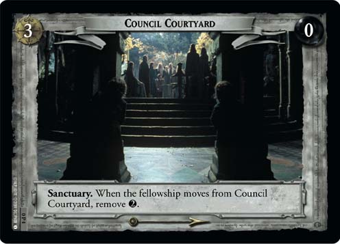 Council Courtyard (P) (0P4) Card Image