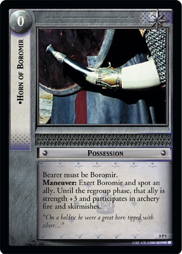 Horn of Boromir (P) (0P5) Card Image
