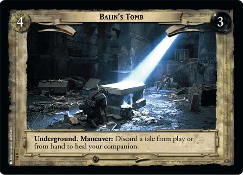 Balin's Tomb (P) (0P6) Card Image