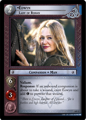 Eowyn, Lady of Rohan (P) (0P17) Card Image