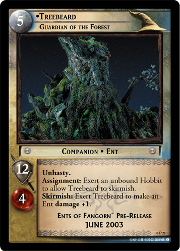 Treebeard, Guardian of the Forest (P) (0P21) Card Image