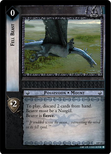 Fell Beast (P) (0P22) Card Image