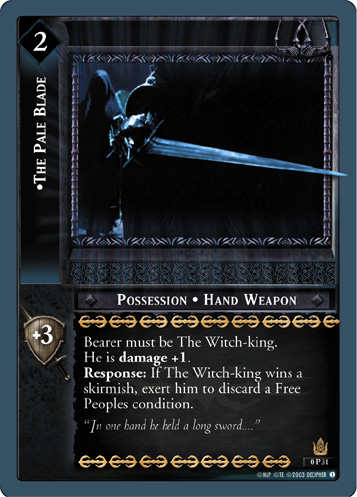 The Pale Blade (P) (0P31) Card Image