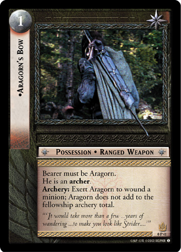 Aragorn's Bow (P) (0P41) Card Image