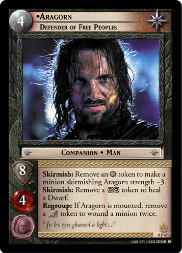 Aragorn, Defender of Free Peoples (P) (0P47) Card Image