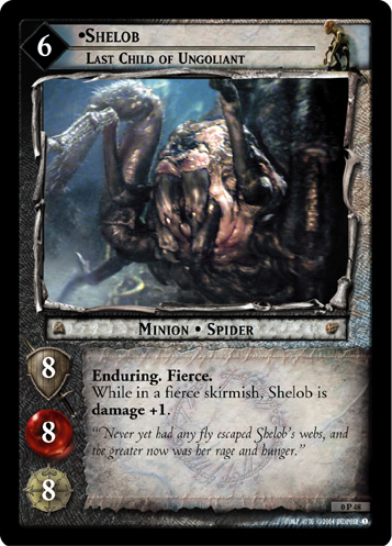 Shelob, Last Child of Ungoliant (P) (0P48) Card Image