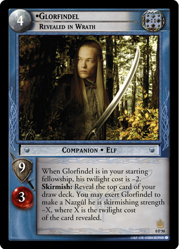 Glorfindel, Revealed in Wrath (P) (0P50) Card Image
