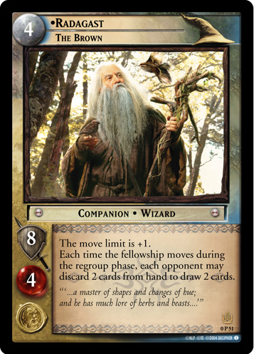 Radagast, The Brown (P) (0P51) Card Image