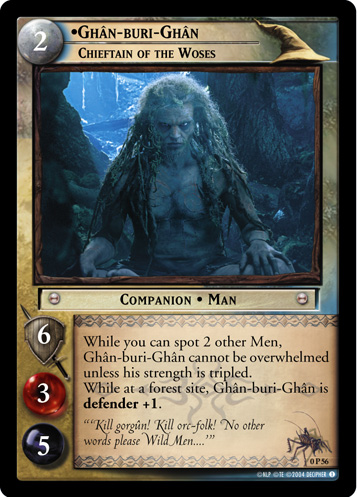Ghan-buri-Ghan, Chieftain of the Woses (P) (0P56) Card Image