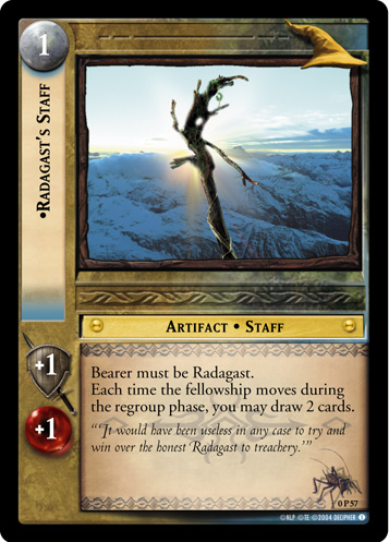 Radagast's Staff (P) (0P57) Card Image