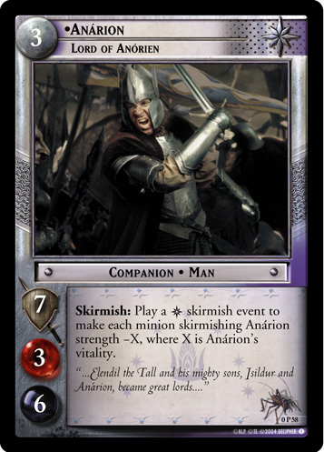 Anarion, Lord of Anorien (P) (0P58) Card Image