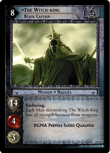 The Witch-king, Black Captain (P) (0P61) Card Image