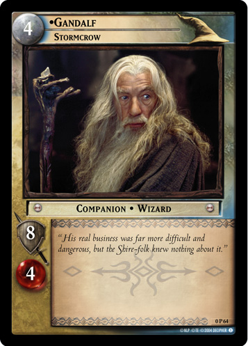 Gandalf, Stormcrow (P) (0P64) Card Image