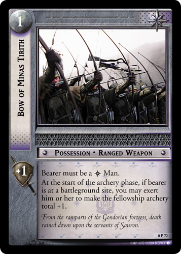 Bow of Minas Tirith (P) (0P72) Card Image