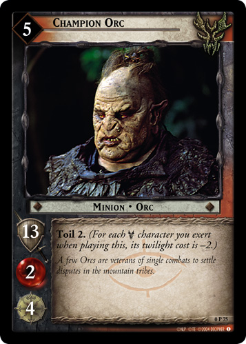 Champion Orc (P) (0P75) Card Image