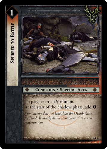 Spurred to Battle (P) (0P76) Card Image