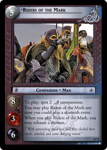 Riders of the Mark (P) (0P77) Card Image