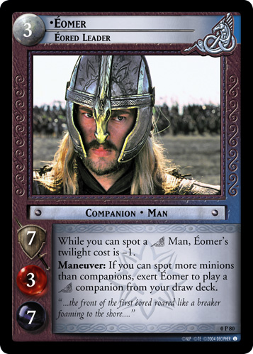 Eomer, Eored Leader (P) (0P80) Card Image