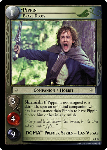 Pippin, Brave Decoy (P) (0P86) Card Image