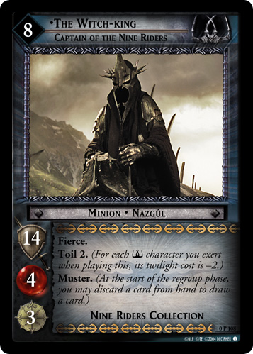The Witch-king, Captain of the Nine Riders (P) (0P108) Card Image