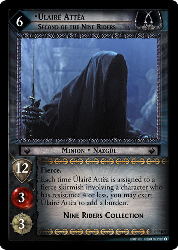 Ulaire Attea, Second of the Nine Riders (P) (0P109) Card Image