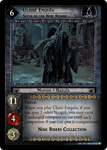 Ulaire Enquea, Sixth of the Nine Riders (P) (0P113) Card Image
