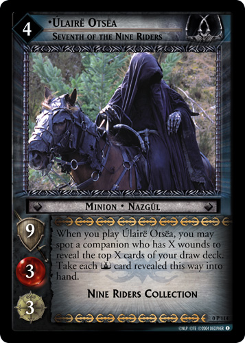 Ulaire Otsea, Seventh of the Nine Riders (P) (0P114) Card Image