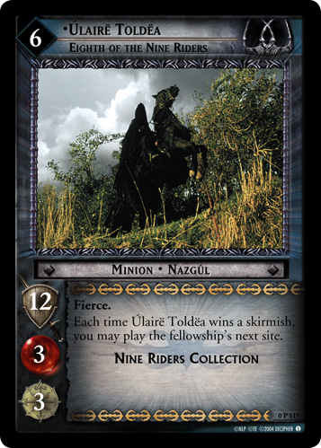 Ulaire Toldea, Eighth of the Nine Riders (P) (0P115) Card Image