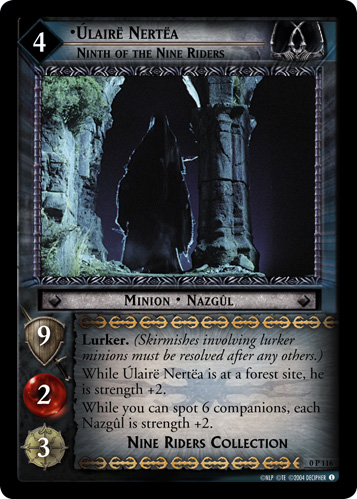 Ulaire Nertea, Ninth of the Nine Riders (P) (0P116) Card Image