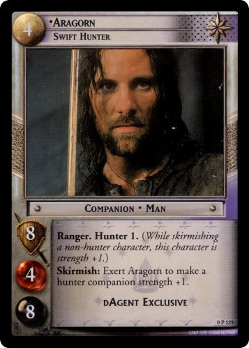 Aragorn, Swift Hunter (P) (0P125) Card Image