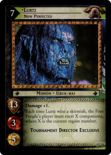 Lurtz, Now Perfected (P) (0P126) Card Image