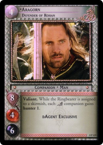 Aragorn, Defender of Rohan (P) (0P127) Card Image