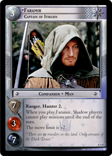 Faramir, Captain of Ithilien (AFD) (0AFD) Card Image