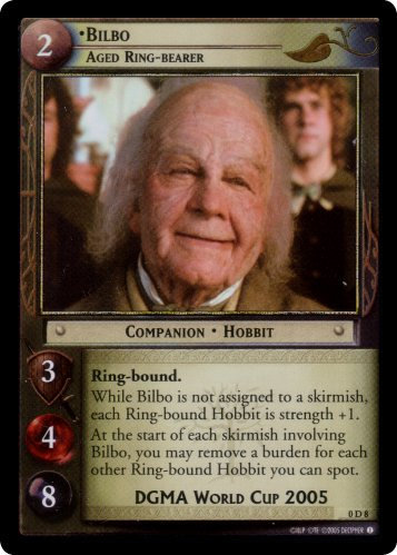 Bilbo, Aged Ring-bearer (D) (0D8) Card Image