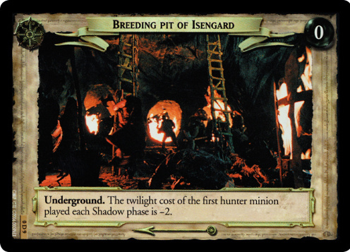 Breeding Pit of Isengard (D) (0D9) Card Image