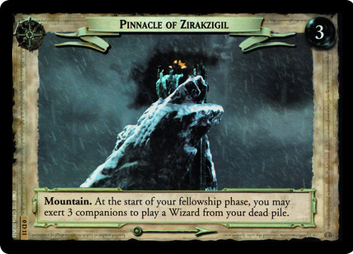 Pinnacle of Zirakzigil (D) (0D11) Card Image