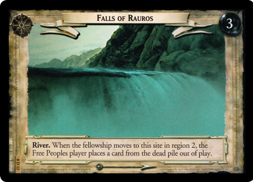 Falls of Rauros (D) (0D13) Card Image