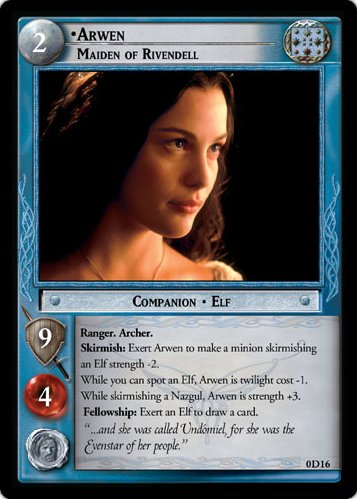 Arwen, Maiden of Rivendell (D) (0D16) Card Image