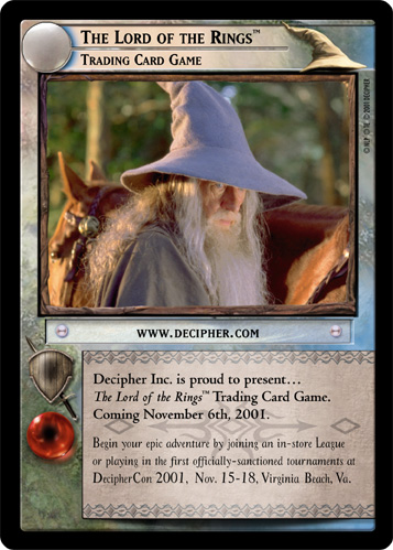 The Lord of the Rings, Trading Card Game (M) (0M1) Card Image