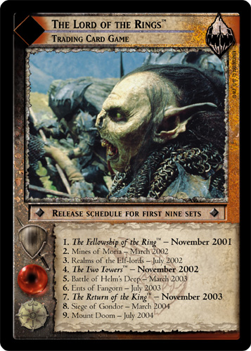 The Lord of the Rings, Trading Card Game (M) (0M2) Card Image