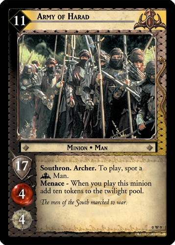 Army of Harad (W) (0W9) Card Image