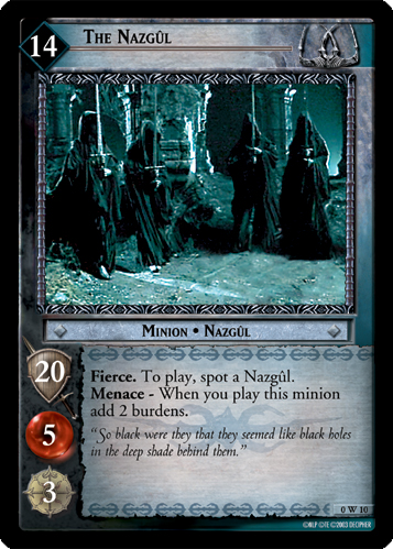 The Nazgul (W) (0W10) Card Image