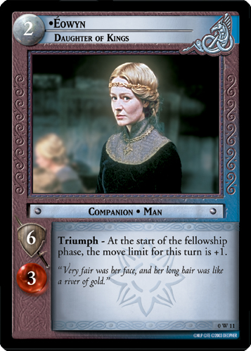 Eowyn, Daughter of Kings (W) (0W11) Card Image