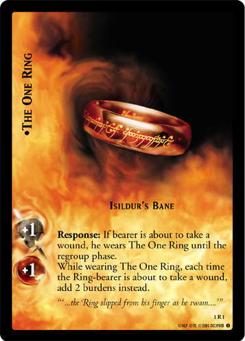 The One Ring, Isildur's Bane (1R1) Card Image