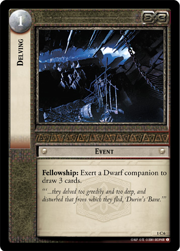 Delving (1C6) Card Image