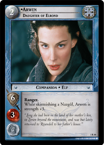 Arwen, Daughter of Elrond (1R30) Card Image