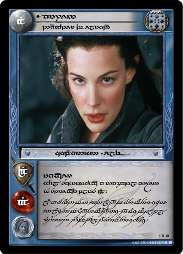Arwen, Daughter of Elrond (T) (1R30T) Card Image