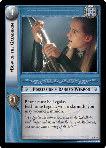 Bow of the Galadhrim (1R33) Card Image