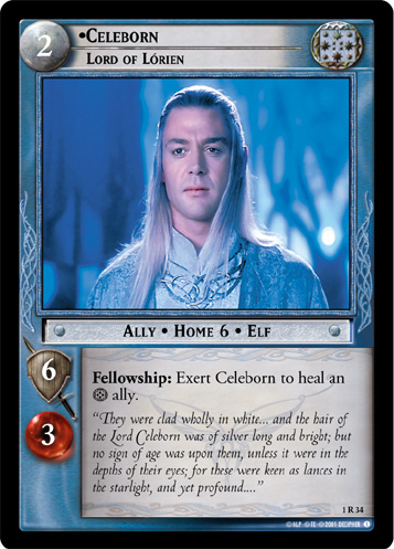 Celeborn, Lord of Lorien (1R34) Card Image