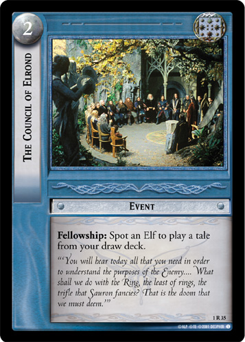 The Council of Elrond (1R35) Card Image